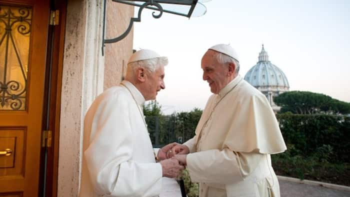 Pope Francis, his predecessor Benedict get COVID-19 vaccine amid rising infections