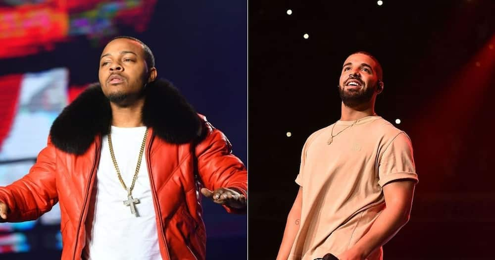 Musician Drake has heaped praise on US Rapper Bow Wow. Image: Paras Griffin/Getty Images
