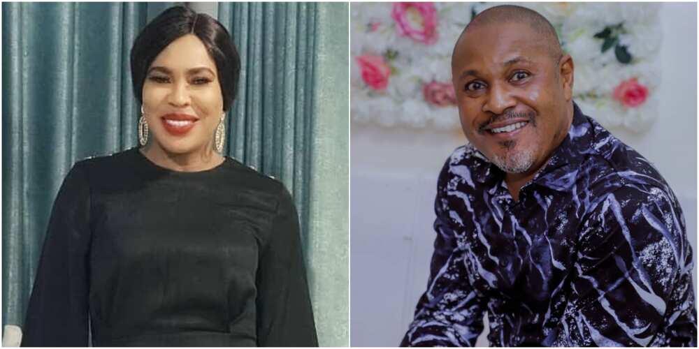 Actor Saidi Balogun and ex-wife Faithia