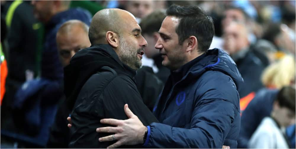 Man City boss Guardiola makes offer to Lampard after he was sacked as Chelsea manager