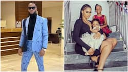 Nigerians react to rumours of Flavour's marriage to first baby mama Sandra