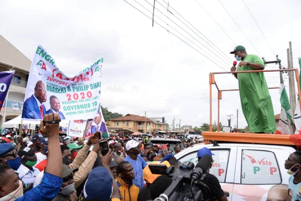 Edo election: INEC announces end of political campaigns