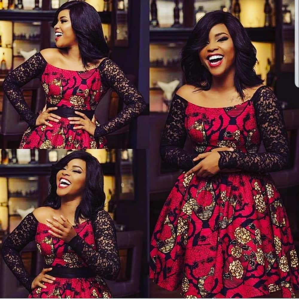 latest Nigerian lace styles and designs