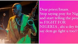 Stop praying for Nigeria: Seun Kuti advises clerics to start telling followers to fight for the country