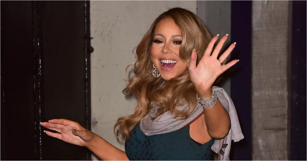 Mariah Carey appears to shade Donald Trump on his last day in office. Source: UGC