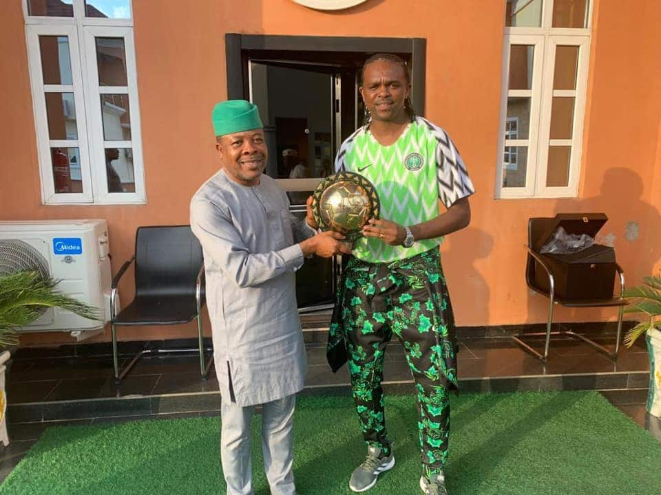 Kanu Nwankwo Gets Political Appointment Imo Government