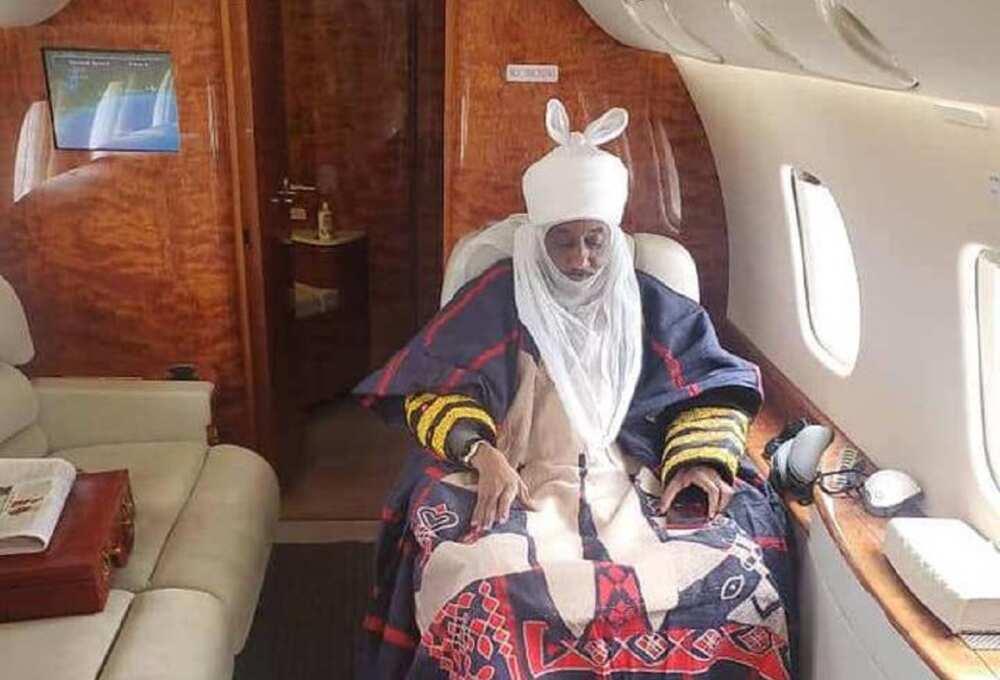 Hotuna: Tsohon Sarkin Kano Sanusi II ya tafi Senegal don hallartar jana'izar ɗan Sheikh Inyass
