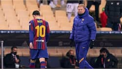 Former Chelsea star tells legendary Lionel Messi why he does not deserve the 2021 Ballon d'Or
