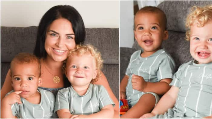 Couple gives birth to twins with rare black and white skin colours, adorable photos surface online