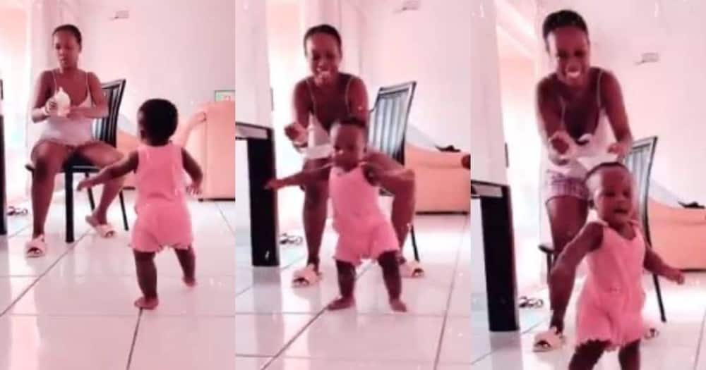Mom shares hilarious clip of toddler reacting to food