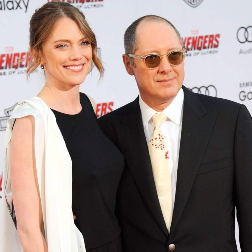 James Spader and wife