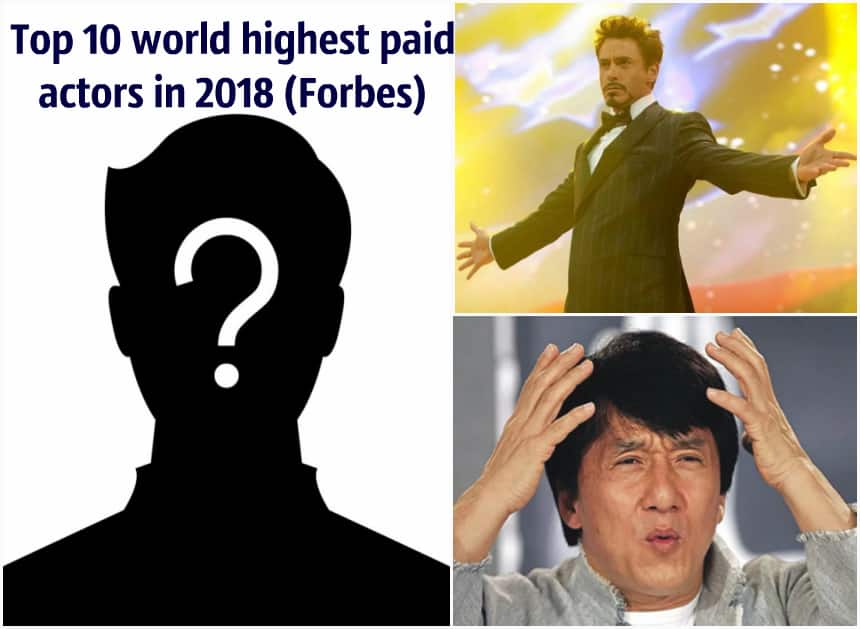 World highest paid actor in 2018 (Forbes) - Top 10 ▷ Legit ng