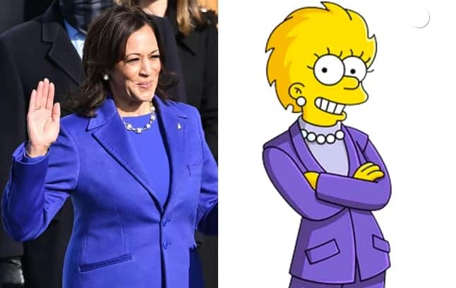 The Simpsons' predicted Kamala Harris as vice president