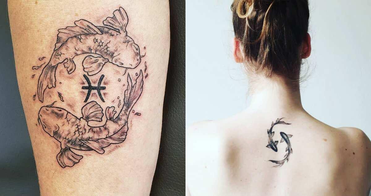 50 Pisces Tattoo Designs And Ideas Legitng