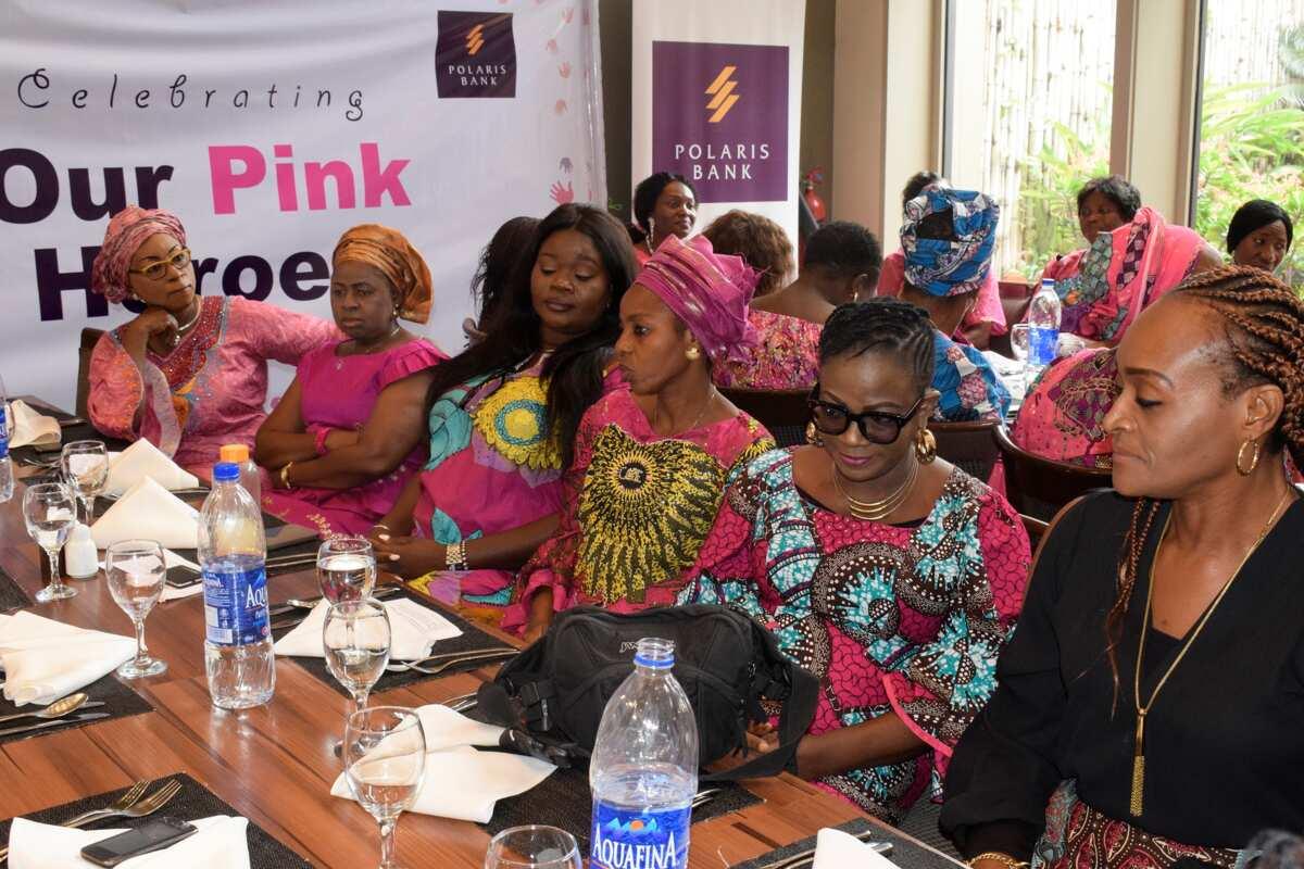 Polaris Bank celebrates with breast cancer survivors