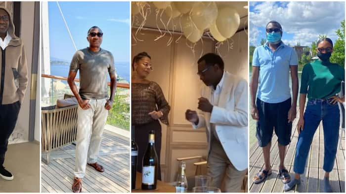 4 times billionaire Femi Otedola stepped out in style, showed off his high fashion sense