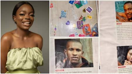 BBNaija: Arin talks about slumbook of the 1st season she did when she was 13, evidence surfaces online