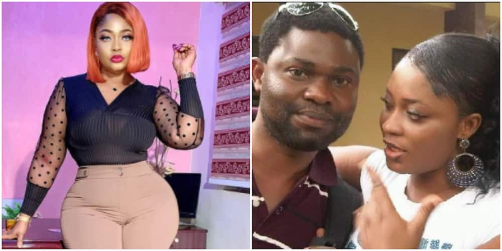 Actress Omoborty shares throwback photo with colleague, Yomi Fash-Lanso, fans react
