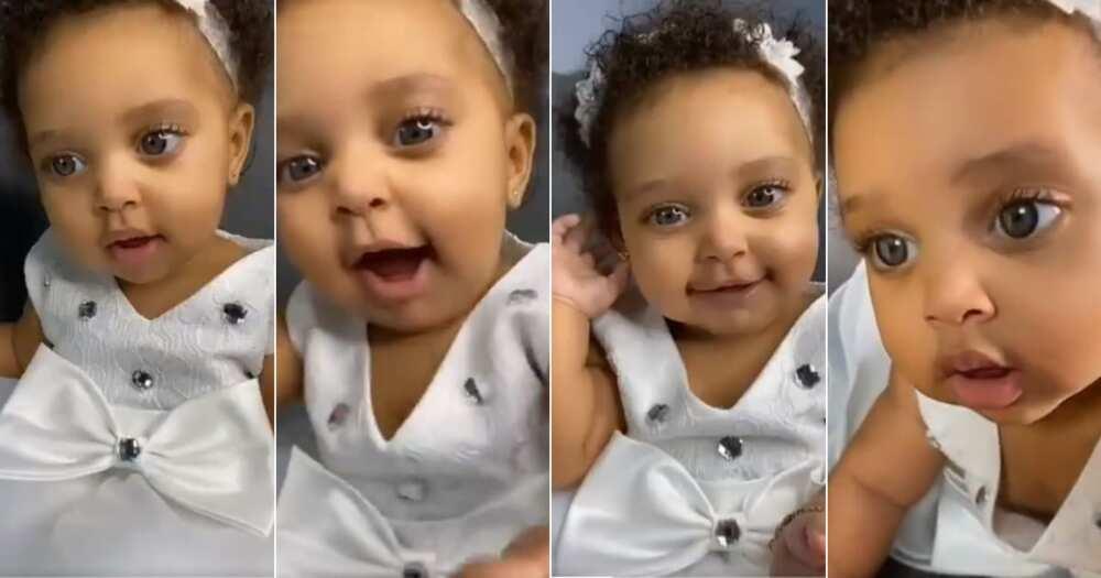 """My Goodness"": Bright-Eyed Baby Girl Has Mzansi in Love"