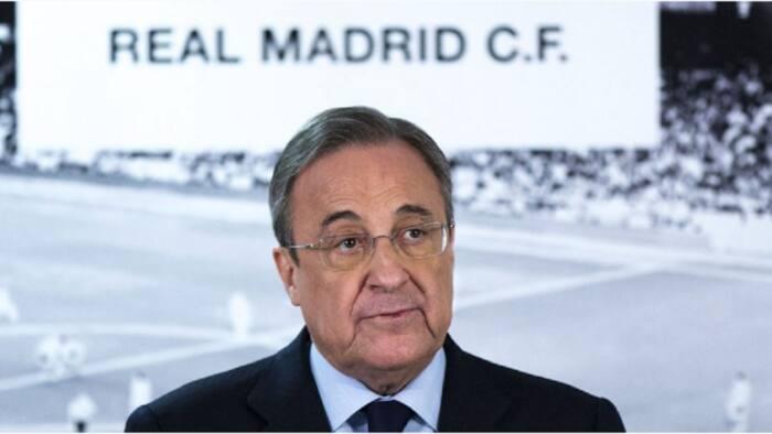 Shugaban Real Madrid ya harbu da cutar korona