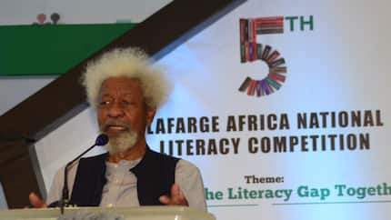 Soyinka reacts to Buhari being cloned, laments stolen identity