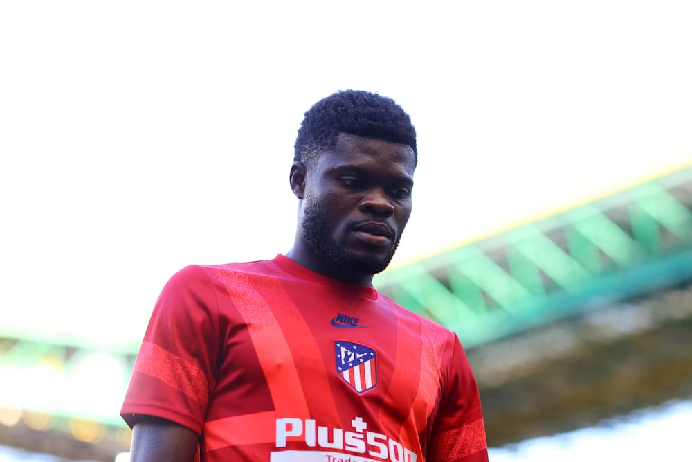 Thomas Partey joins Arsenal on loan from Spanish side Atletico Madrid