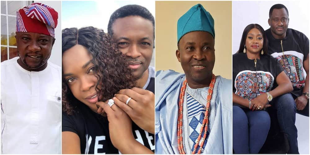 X celebrities whose wives are abroad