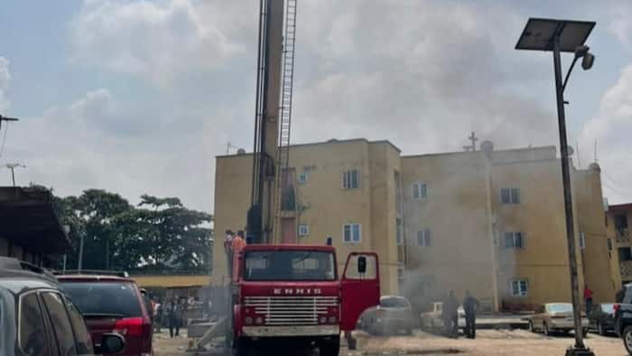 Federal Fire Service revives 25-year old hydraulic platform in Lagos