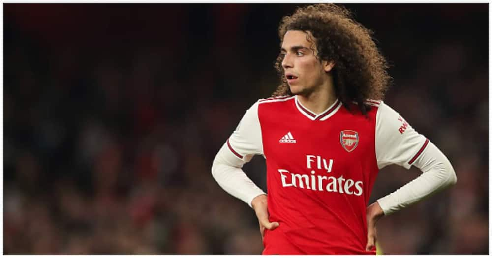 Arsenal ace Matteo Guendouzi while in action for the Gunners. Photo: Getty Images.