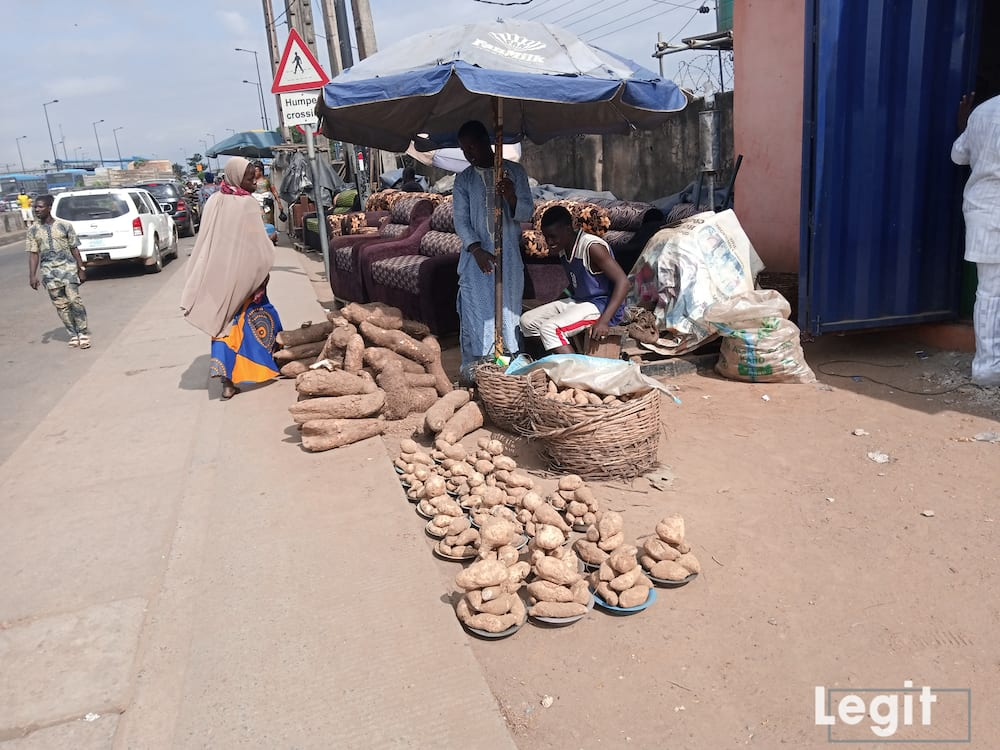The quantity of the item is reduced and they are not even fresh. Photo credit: Esther Odili