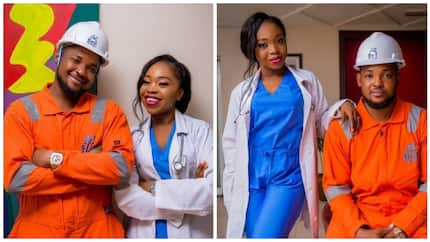 Awesome pre-wedding photos of engineer and his beautiful doctor bride go viral