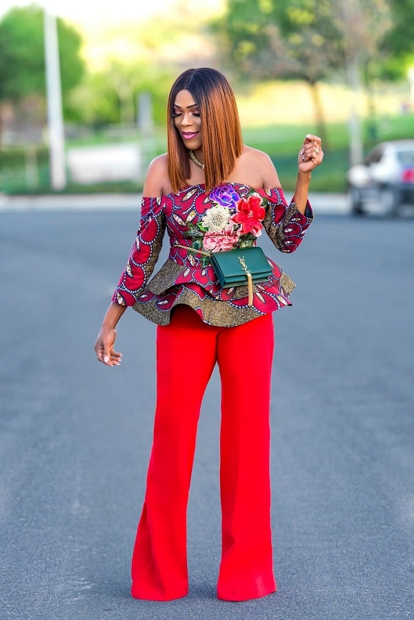 Ankara Tops, ankara tops styles, ankara tops for ladies, ankara crop tops, ankara tops for jeans, ankara tops jeans