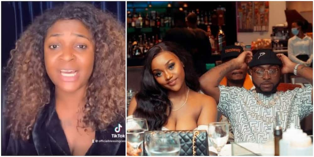 Davido Did Nothing Wrong to Chioma, What Was She Expecting? He is National Cake - Blessing CEO Says