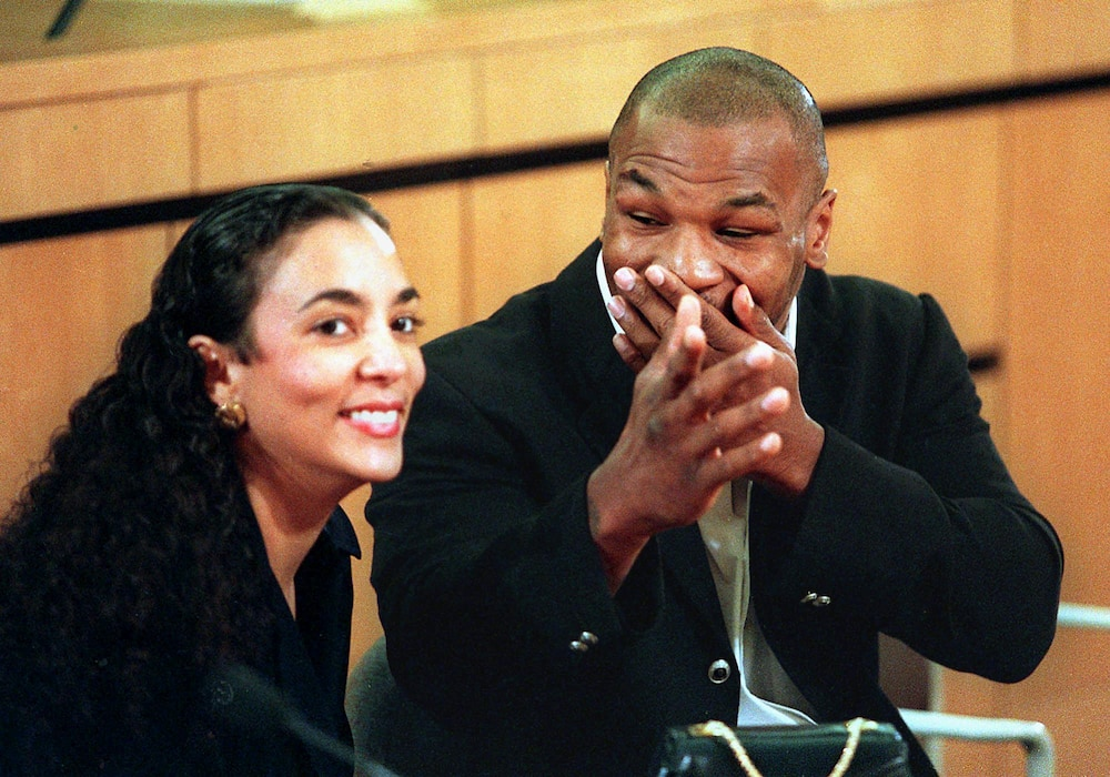 Mike Tyson and wife