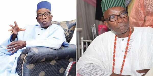 Tears as Jubril Martins Kuye,Nigerian ex-minister, dies At 78