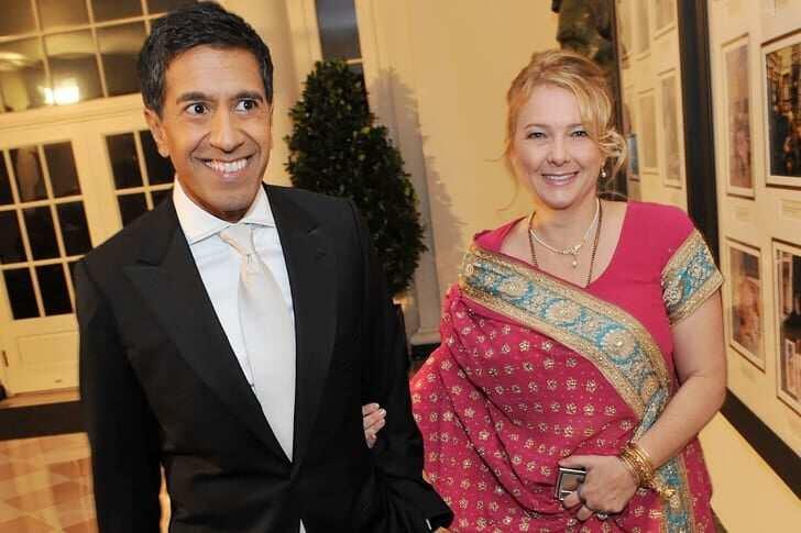 Sanjay Gupta's wife
