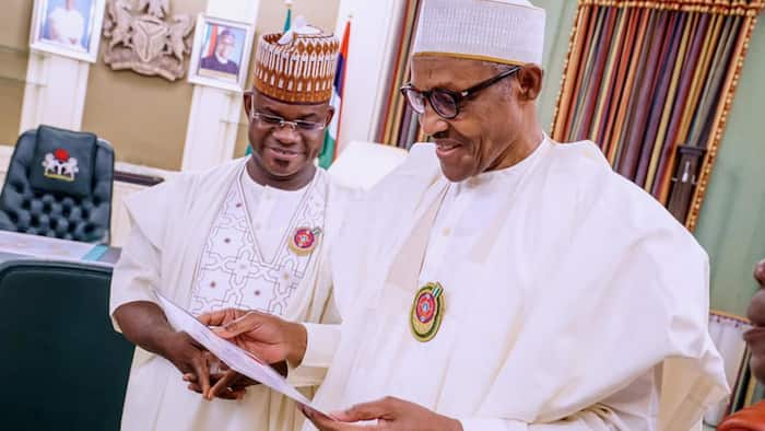 I am ready to take over from Buhari in 2023, Yahaya Bello declares