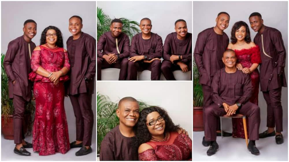 Adorable photos of couple who've been married for 25 years become viral sensation as they show off their kids