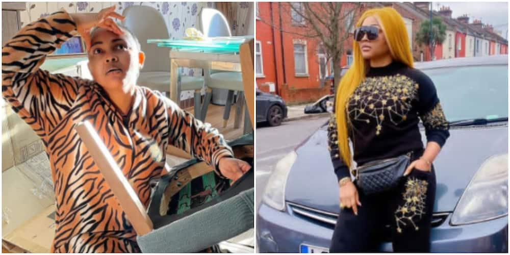 Actress Mercy Aigbe reveals moving homes for her has been stressful (photo)