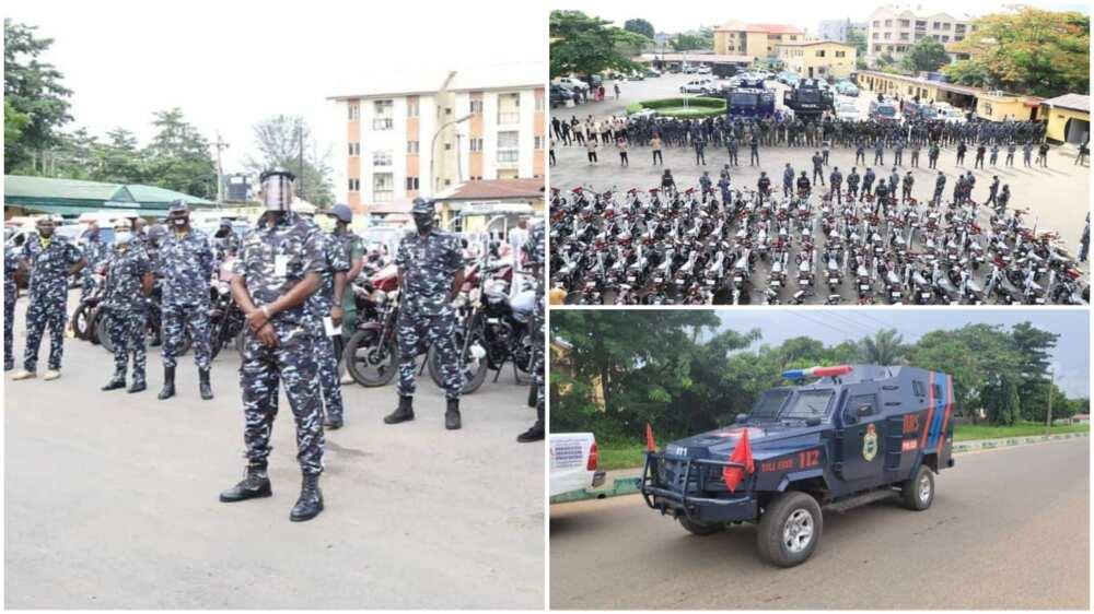 Yoruba Nation: Police Begin Show of Force in Lagos