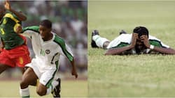 Okocha recalls outpour of emotions when he scored memorable goal against Cameroon at AFCON 2000 final