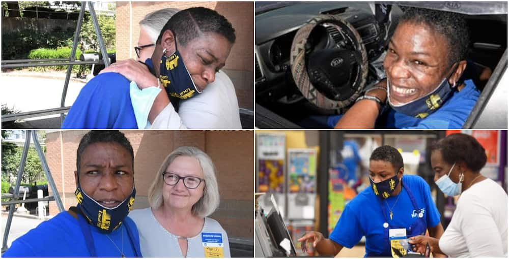 'We'll take care of you': Kroger gives job to woman who slept in the store's parking lot