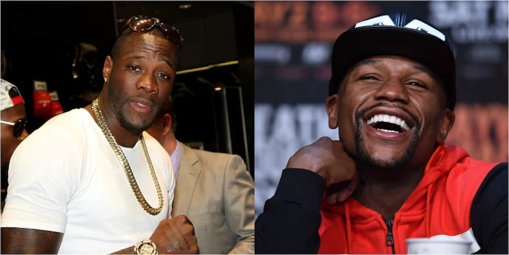 Deontay Wilder refuses big offer from Floyd Mayweather to train him