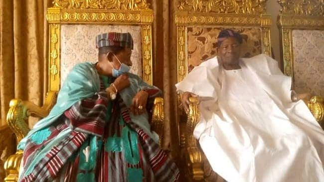 After 20 years, Alaafin pays visit, homage to Soun of Ogbomosoland