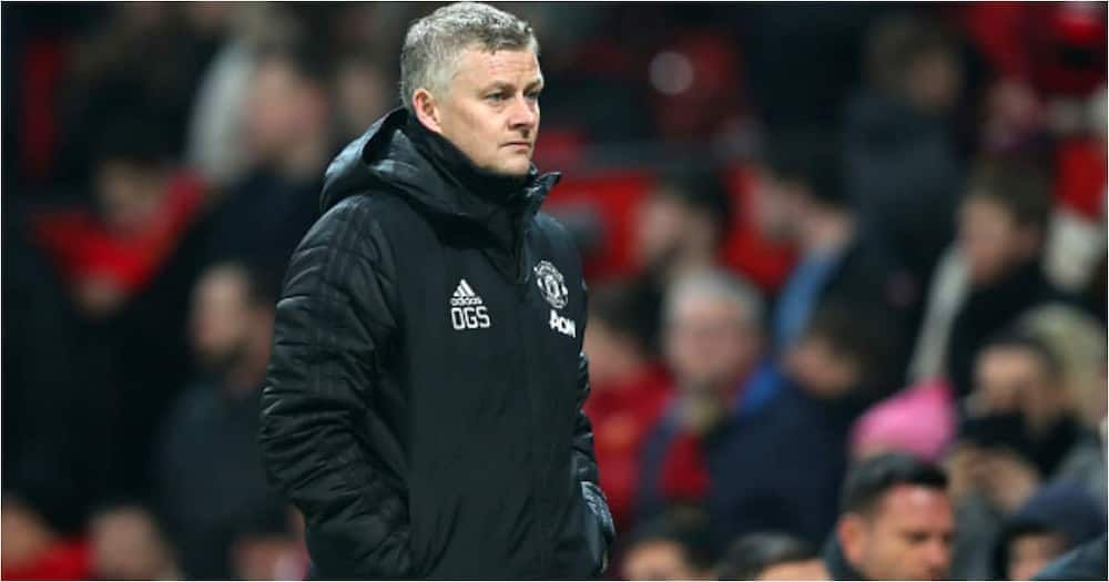 Man United boss Ole Gunnar Solskjaer during a past match. Photo: Getty Images.