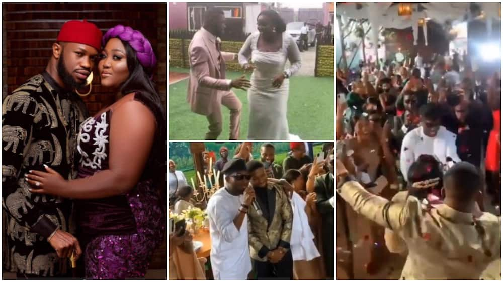 Photos, videos as actor Stan Nze and Blessing gets married in great style