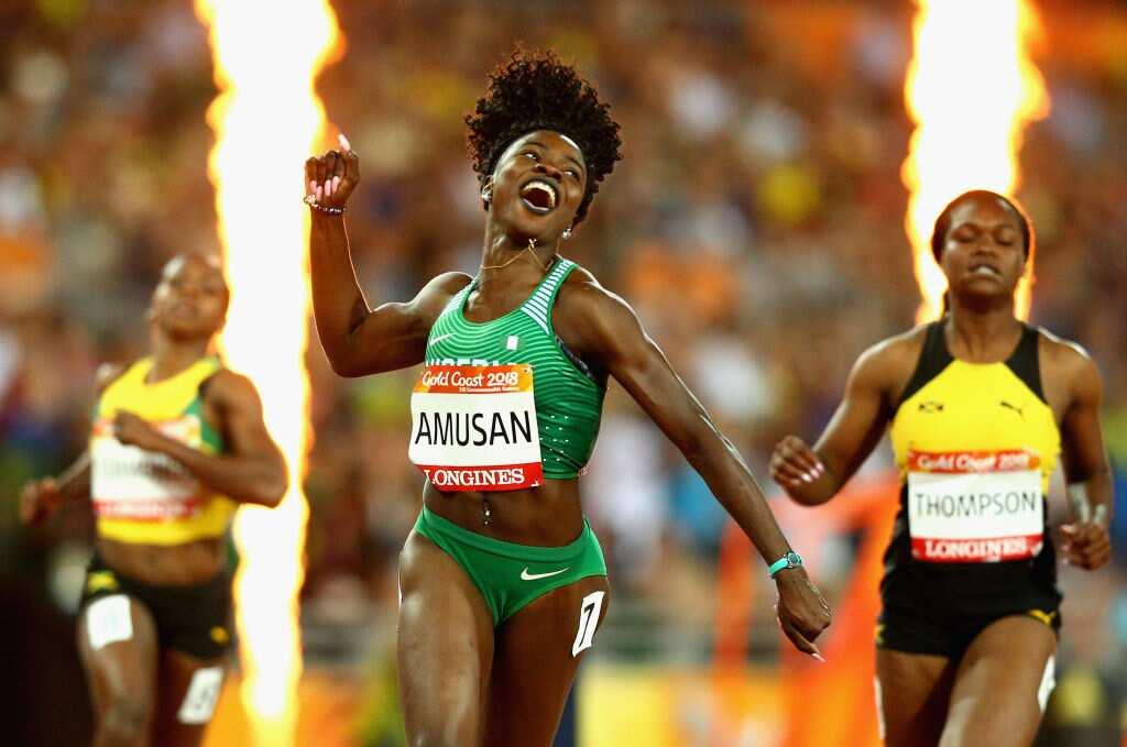 Nigerian athlete Tobi Amusan breaks 20 year African Games record in style