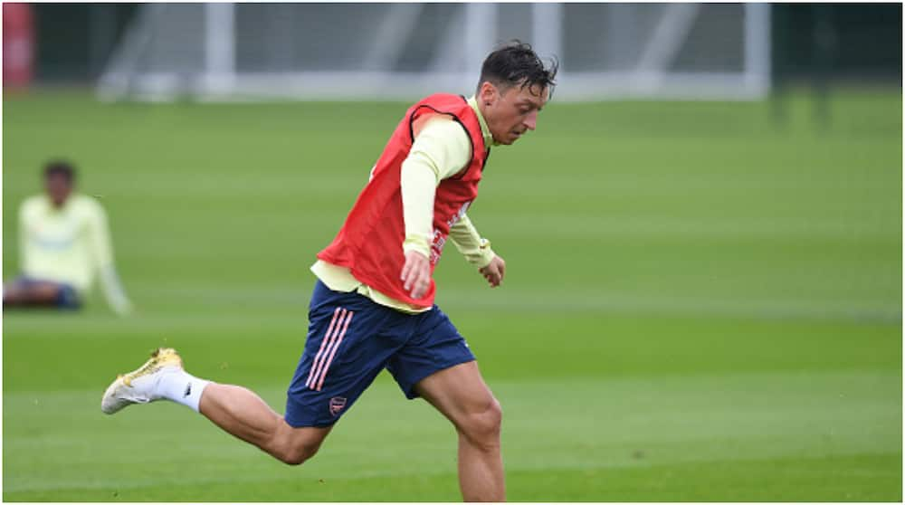 Mikel Arteta: Arsenal manager plans to assess Mesut Ozil's situation when transfer window closes