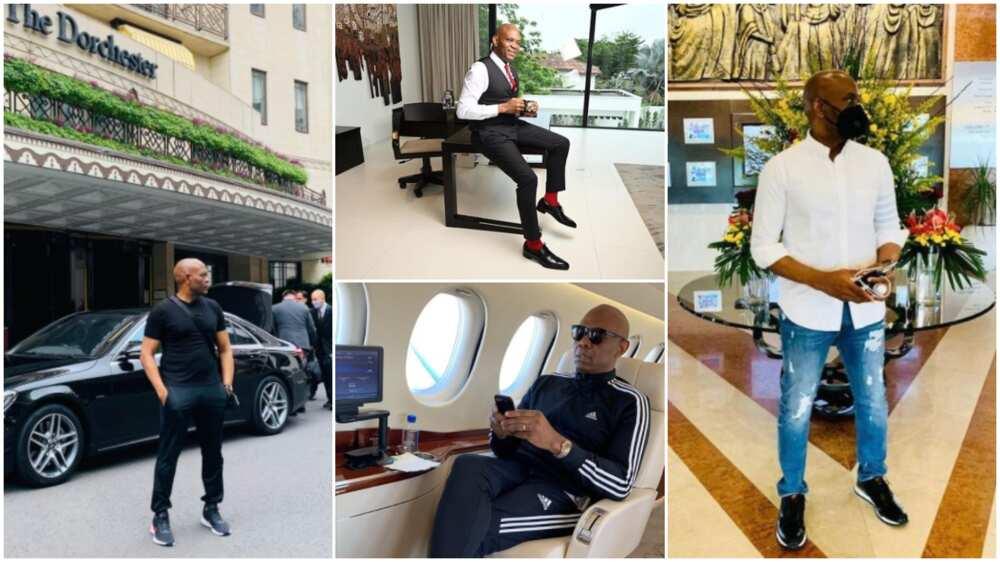 Tony Elumelu is a billionaire with a great dressing sense.