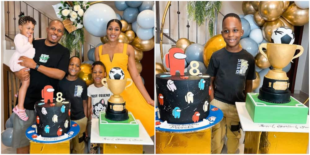 The most Amazing Son I could ever Ask for: Rapper Naeto C Shares Adorable Family Photos as Son Clocks 8